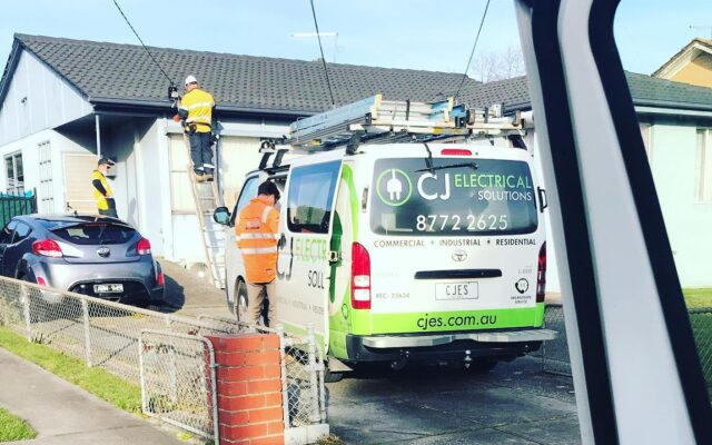 CJ Electrical Solutions Mains Upgrade