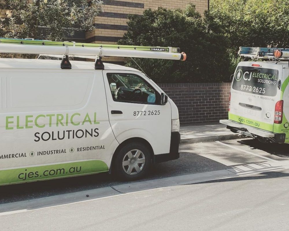 CJ Electrical Solutions Vans 2021