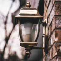 Porch light in Doveton